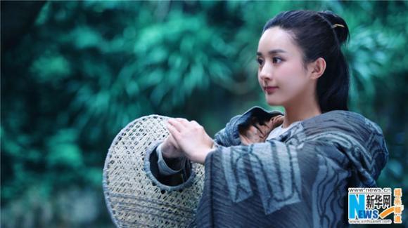 Triệu Lệ Dĩnh hóa Hoa Thiên Cốt đẹp tựa tiên nữ 0