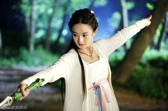 Triệu Lệ Dĩnh hóa Hoa Thiên Cốt đẹp tựa tiên nữ 3