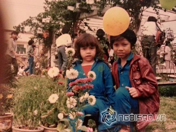 Lộ ảnh cũ tóc xoăn cực yêu của Hồ Ngọc Hà