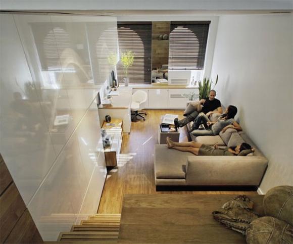 khong gian noi that tuyet voi cho ngoi nha rong 46m2 3 ngoisao.vn Tham quan không gian nội thất tuyệt vời của ngôi nhà 46 m2