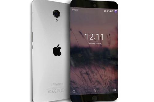 Lộ iPhone 7 với thiết kế không viền màn hình cực đẹp