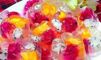 mận lắc, mận chua ngọt, hoa quả dầm