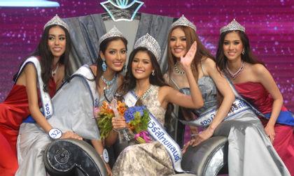 Người đẹp có nụ cười đẹp nhất đăng quang Hoa hậu Thái Lan 2015