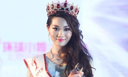 Thất vọng trước nhan sắc của Hoa hậu Hoàn vũ Trung Quốc 2015
