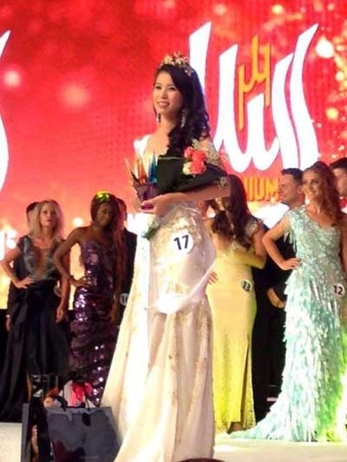 Cô gái Việt trở thành Á hậu Khiếm thính Thế giới 2015 3