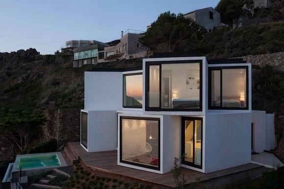 """ngôi nhà """"hoa hướng dương"""" bên bờ biển tuyệt đẹp, nhà đẹp, nội thất, chung cư, mẫu nhà đẹp, trang trí nhà, tin ngôi sao"""