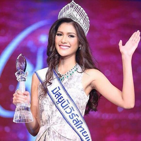 Tân Hoa hậu hoàn vũ thái lan 2015 0
