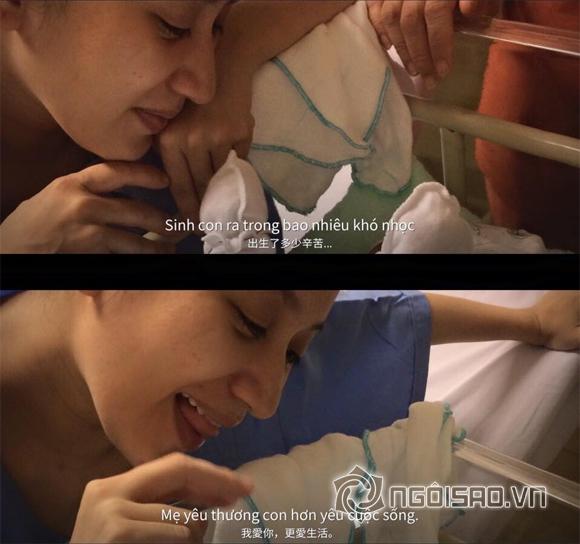 Khánh Thi,con trai Khánh Thi,Khánh Thi đưa con đi khám lúc nửa đêm,Khánh Thi sinh con trai,Phan Hiển