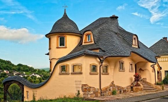 Những ngôi nhà đẹp như trong cổ tích 1