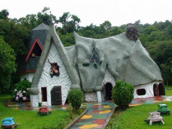 Những ngôi nhà đẹp như trong cổ tích 7