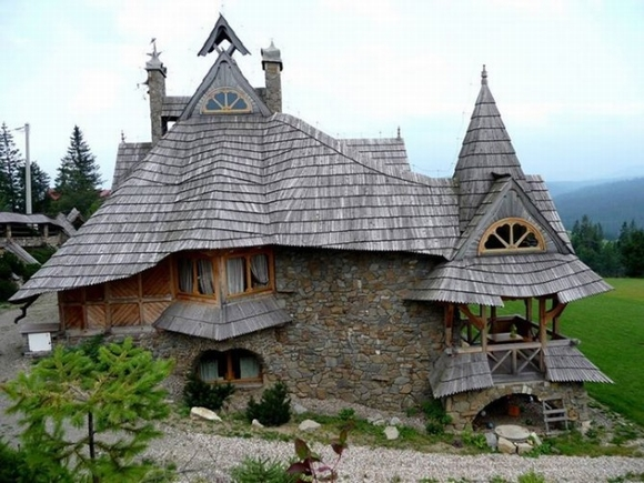 Những ngôi nhà đẹp như trong cổ tích, nhà đẹp, nhà, nội thất, nhà chung cư, căm hộ, trang trí nhà, tin ngôi sao