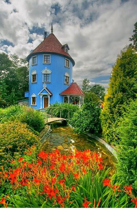 Những ngôi nhà đẹp như trong cổ tích 4