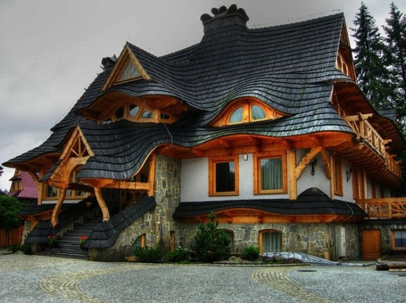 Những ngôi nhà đẹp như trong cổ tích 12