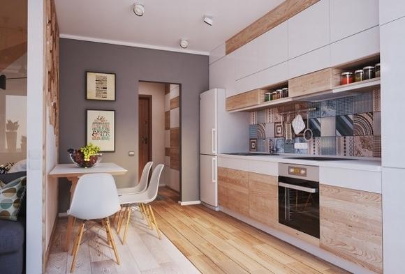 Nội thất đẹp của ngôi nhà có diện tích 40 m2 2