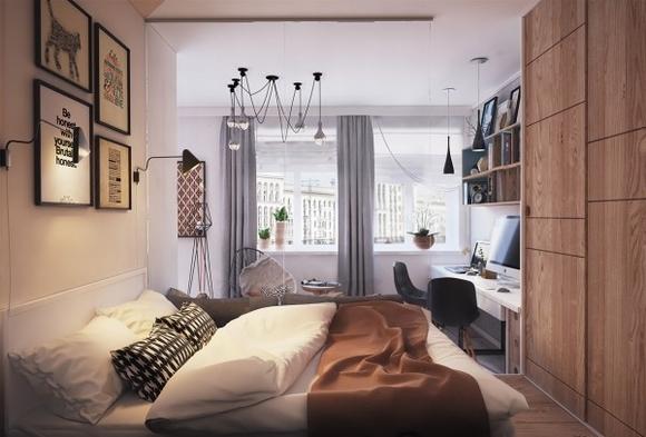 Nội thất đẹp của ngôi nhà có diện tích 40 m2 6