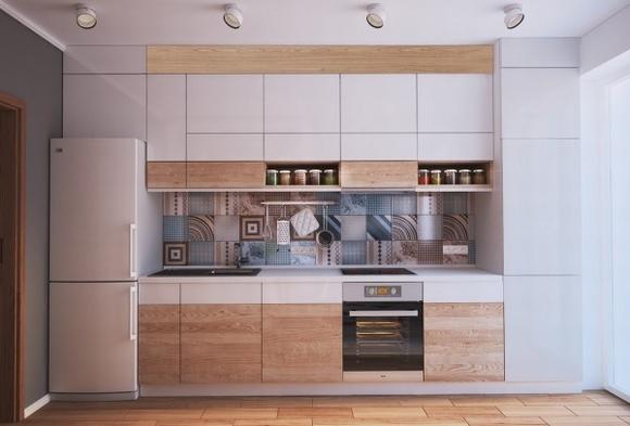Nội thất đẹp của ngôi nhà có diện tích 40 m2 4