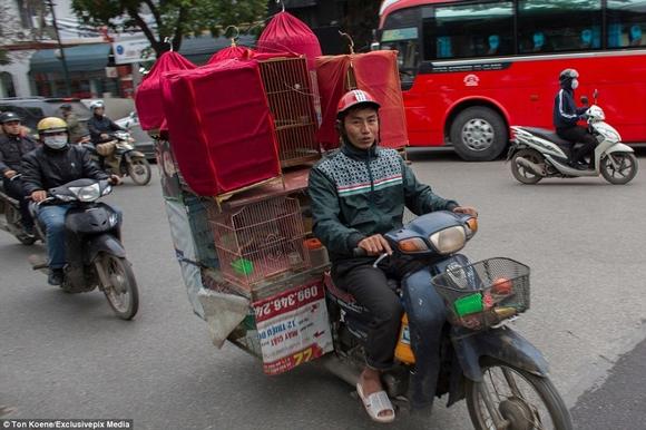 Những hình ảnh chở cồng kềnh quá tải ở Việt Nam lên báo nước ngoài 10