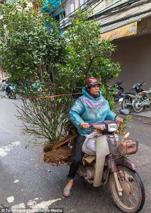Những hình ảnh chở cồng kềnh quá tải ở Việt Nam lên báo nước ngoài 8