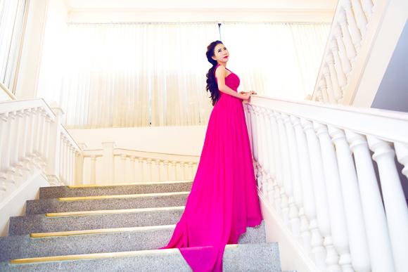Hoa khôi doanh nhân 2014, Á khôi doanh nhân, Lê Ngọc Thanh, Á khôi doanh nhân khoe sắc, NTK Lê Thanh Hoà