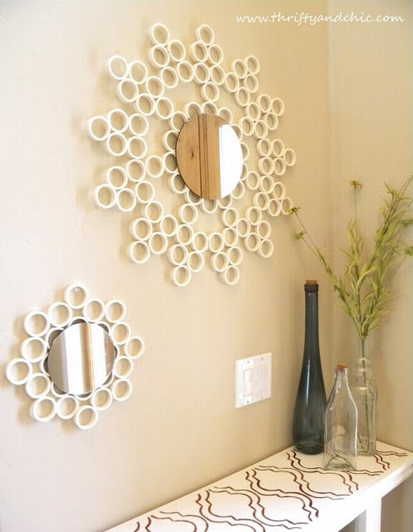 Trang trí gương đơn giản giúp làm đẹp không gian nhà 14