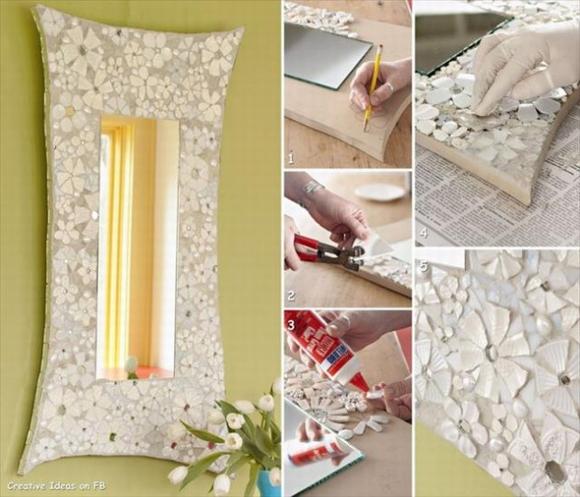 Trang trí gương đơn giản giúp làm đẹp không gian nhà 5