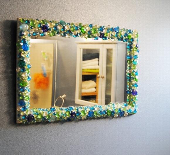 Trang trí gương đơn giản giúp làm đẹp không gian nhà 4