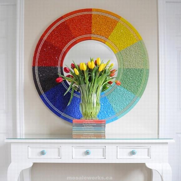 Trang trí gương đơn giản giúp làm đẹp không gian nhà 3
