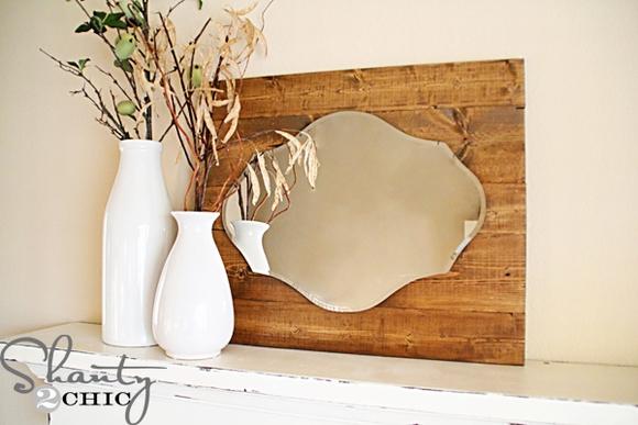 Trang trí gương đơn giản giúp làm đẹp không gian nhà 2