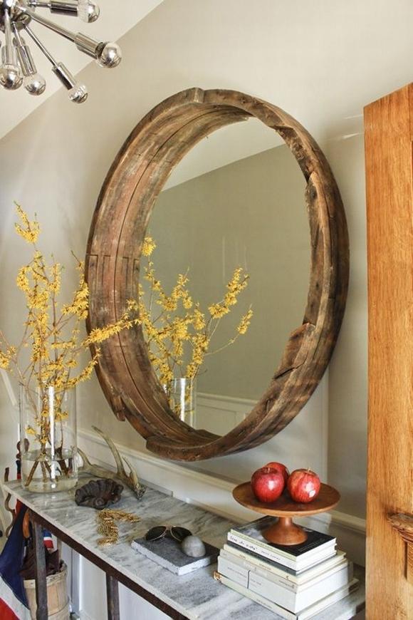 Trang trí gương đơn giản giúp làm đẹp không gian nhà 1