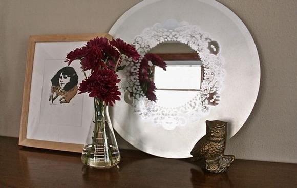 Trang trí gương đơn giản giúp làm đẹp không gian nhà 0