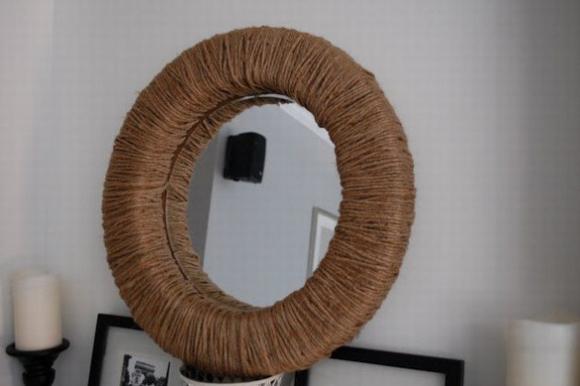 Trang trí gương đơn giản giúp làm đẹp không gian nhà 10