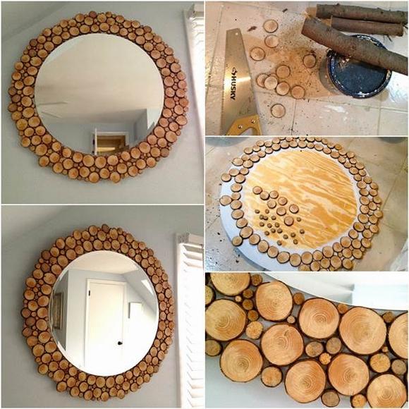 Trang trí gương đơn giản giúp làm đẹp không gian nhà 9