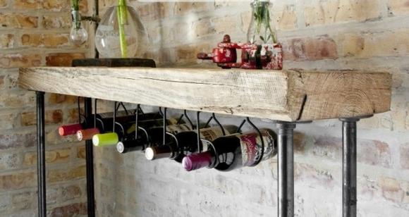 ke dung ruou trang tri nha them dep 11 ngoisao.vn Chia sẻ những cách tạo kệ đựng rượu trang trí nhà thêm đẹp