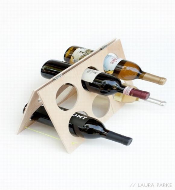 ke dung ruou trang tri nha them dep 12 ngoisao.vn Chia sẻ những cách tạo kệ đựng rượu trang trí nhà thêm đẹp