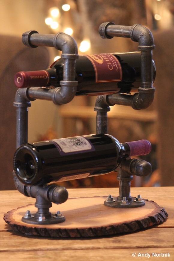 ke dung ruou trang tri nha them dep 13 ngoisao.vn Chia sẻ những cách tạo kệ đựng rượu trang trí nhà thêm đẹp