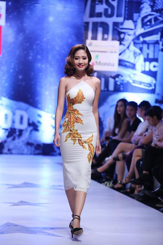 Minh Triệu, Siêu mẫu Minh Triệu, Minh Triệu trong trang phục vẽ tay, Phong cách Trẻ tháng 8, chương trình Phong cách Trẻ tháng 8