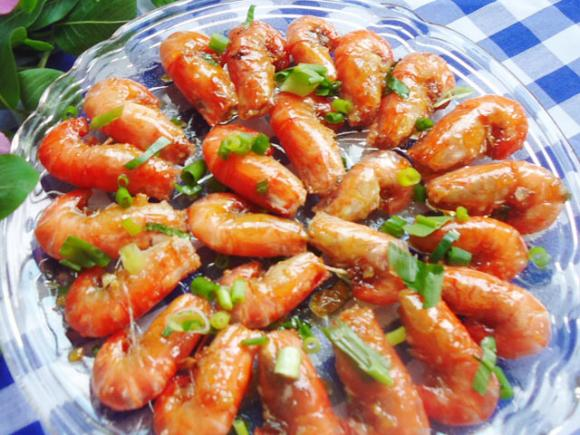 Tôm rang dừa
