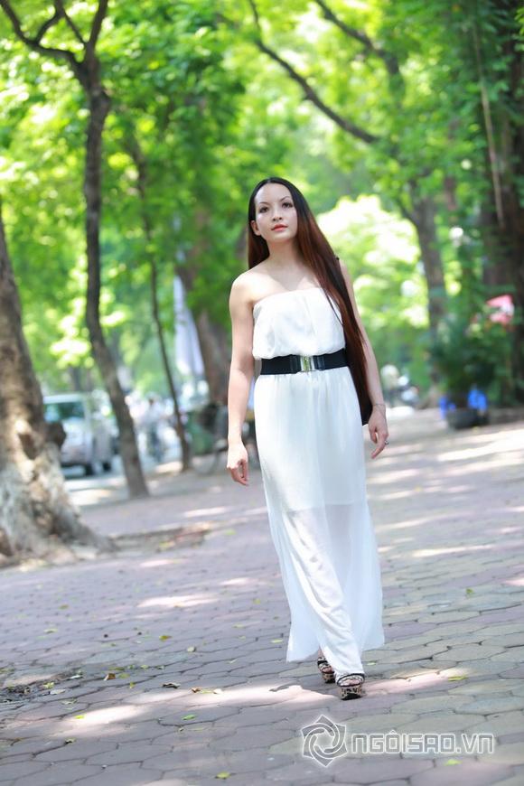 Diễn viên Linh Nga tái xuất 7