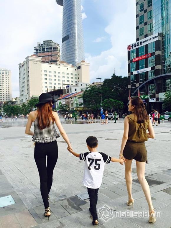 Hồ Ngọc Hà đưa Subeo đi chơi cùng Thiều Bảo Trang 1