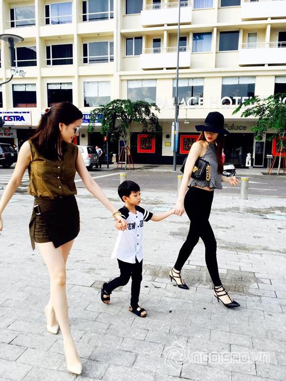 Hồ Ngọc Hà đưa Subeo đi chơi cùng Thiều Bảo Trang 4