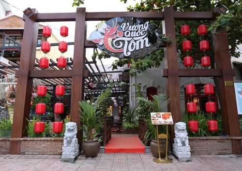 Vương Quốc Tôm, Nhà hàng ẩm thực xứ Đài, Hải sản Vương Quốc Tôm