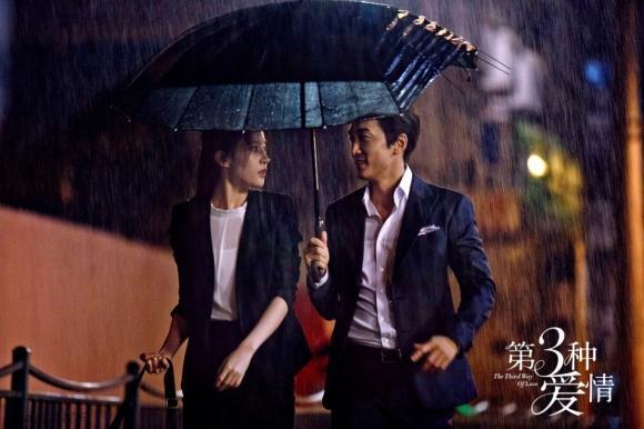 Song Seung Hun Lưu Diệc Phi hôn nhau 6