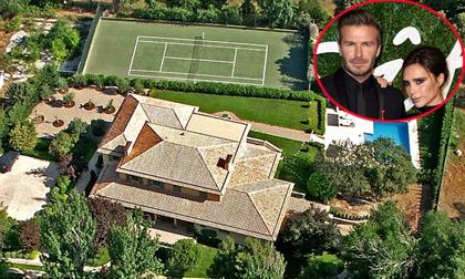 vợ chồng Becks,vợ chồng Becks tậu biệt thự siêu sang,biệt thự gần 200 tỷ đồng của vợ chồng Becks,vợ chồng Becks sở hữu biệt thự hoành tráng,sao Hollywood