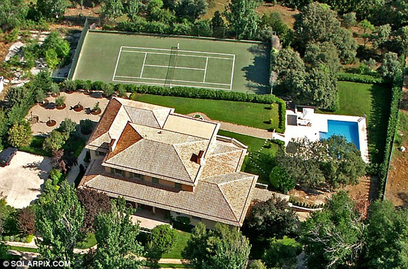 vo chong becks 6 ngoisao.vn Vợ chồng Becks bán nhà ở Madrid thu được 146 tỷ đồng