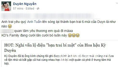 Hoa hậu Kỳ Duyên nói về bạn trai tin đồn 3