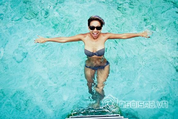 Thảo Trang khoe thân hình nóng bỏng 4