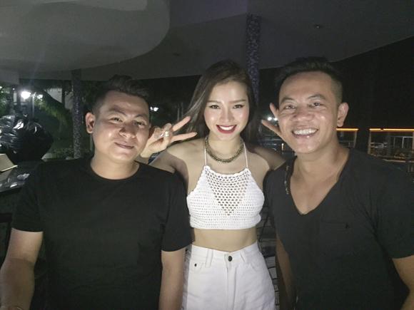 Từ trái qua phải: DJ Lâm Bass - Phương Trinh Jolie - DJ Hoàng Anh