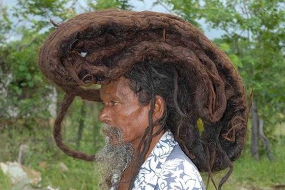 Hài hước với những mẫu tóc 'ai cũng phải ngước nhìn' 9