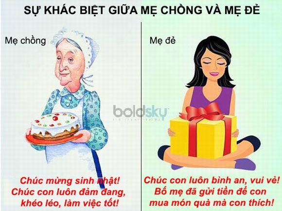 Sự khác biệt giữa mẹ chồng và mẹ đẻ 6