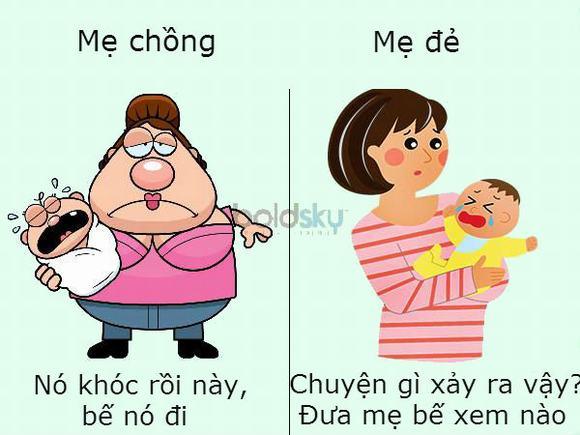 Sự khác biệt giữa mẹ chồng và mẹ đẻ 4